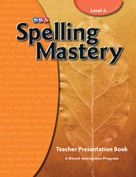 Spelling Mastery Level A, Teacher Materials