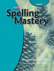 Spelling Mastery Level E, Teacher Materials