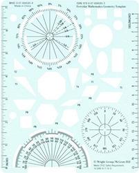 Everyday Mathematics 4, Grades 4-6, Geometry Template