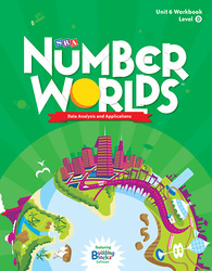 Number Worlds Level D, Student Workbook Data Analysis (5 pack)
