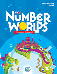 Number Worlds Level F, Student Workbook Geometry (5 pack)