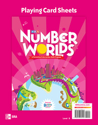 Number Worlds Level B, Playing Card Sheets