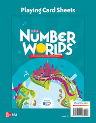 Number Worlds Level C, Playing Card Sheets