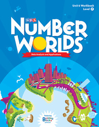 Number Worlds Level F, Student Workbook Data Analysis (5 pack)