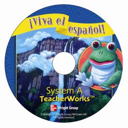 ¡Viva el español!, System A TeacherWorks CD-ROM