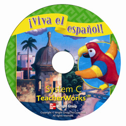 ¡Viva el español!, System C TeacherWorks CD-ROM