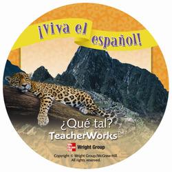 ¡Viva el español!: ¿Qué tal?, TeacherWorks CD-ROM