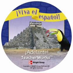 ¡Viva el español!: ¡Adelante!, TeacherWorks CD-ROM