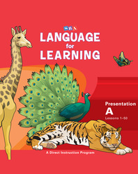 Language for Learning, Presentation Book A