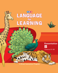 Language for Learning, Presentation Book B