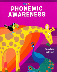 Phonemic Awareness PreK, Teacher Edition