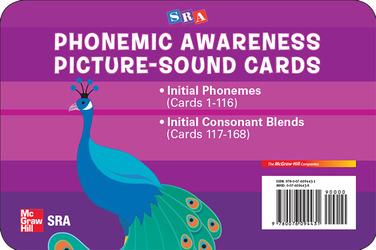 Phonemic Awareness PreK-K, Picture/Sound Cards