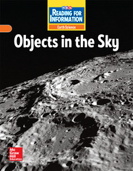 Reading for Information, Approaching Student Reader, Earth - Objects in the Sky, Grade 3