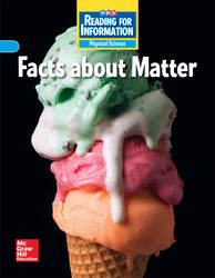 Reading for Information, Approaching Student Reader, Physical - Facts About Matter, Grade 3