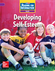 Reading for Information, Above Student Reader, Health - Developing Self-Esteem, Grade 5