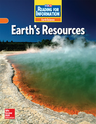 Reading for Information, Approaching Student Reader, Earth - Earth's Resources, Grade 6
