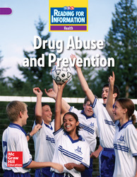 Reading for Information, Above Student Reader, Health - Drug Abuse and Prevention, Grade 6