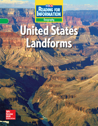 Reading for Information, Approaching Student Reader, Geography - U.S. Landforms, Grade 3