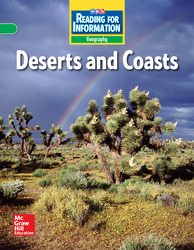 Reading for Information, On Level Student Reader, Geography - Deserts and Coasts, Grade 3