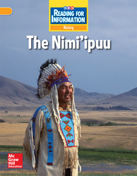 Reading for Information, Above Student Reader, History - The Nimi'ipuu, Grade 3