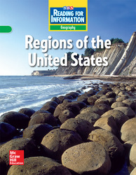 Reading for Information, Approaching Student Reader, Geography - Regions of the U.S., Grade 4