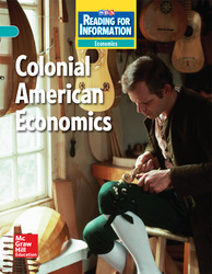 Reading for Information, On Level Student Reader, Economics - Colonial American Economics, Grade 5