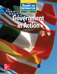 Reading for Information, Approaching Student Reader, Civics - Government in Action, Grade 6