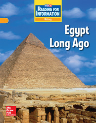 Reading for Information, Approaching Student Reader, History - Egypt Long Ago, Grade 6