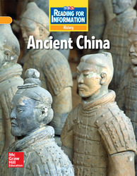 Reading for Information, On Level Student Reader, History - Ancient China, Grade 6