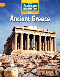 Reading for Information, Above Student Reader, History - Ancient Greece, Grade 6