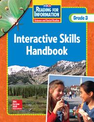 Reading for Information, Interactive Skills Handbook, Grade 3
