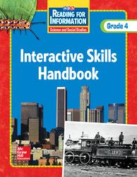 Reading for Information, Interactive Skills Handbook, Grade 4
