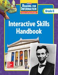 Reading for Information, Interactive Skills Handbook, Grade 6