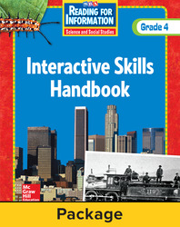 Reading for Information, Interactive Skills Handbook (6-pk), Grade 4