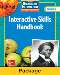 Reading for Information, Interactive Skills Handbook (6-pk), Grade 5