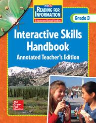 Reading for Information, Interactive Skills Handbook TAE, Grade 3
