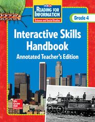 Reading for Information, Interactive Skills Handbook TAE, Grade 4