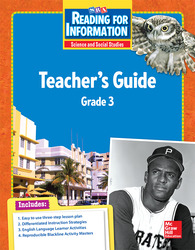 Reading for Information, Teacher Guide, Grade 3
