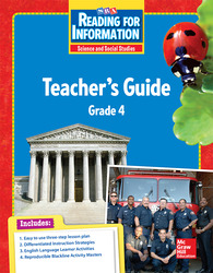 Reading for Information, Teacher Guide, Grade 4