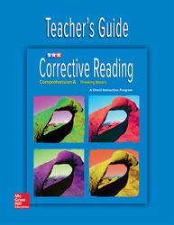 Corrective Reading Comprehension Level A, Teacher Guide