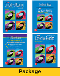 Corrective Reading Comprehension Level A, Teacher Materials Package
