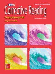 Corrective Reading Comprehension Level B1, Presentation Book