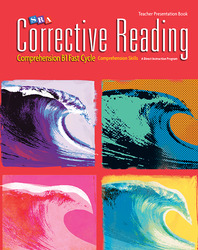 Corrective Reading Fast Cycle B1, Presentation Book