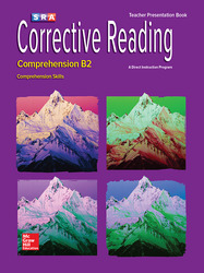 Corrective Reading Comprehension Level B2, Presentation Book