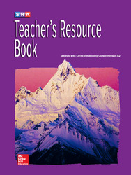 Corrective Reading Comprehension Level B2, Teachers Resource Book