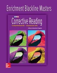 Corrective Reading Comprehension Level B2, Enrichment Blackline Master
