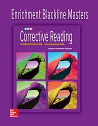 Corrective Reading Comprehension Level B2, Enrichment Blackline Master