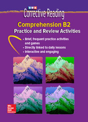 Corrective Reading Comprehension Level B2, Student Practice CD Package