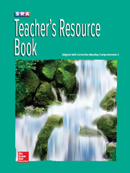 Corrective Reading Comprehension Level C, National Teacher Resource Book
