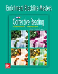 Corrective Reading Comprehension Level C, Enrichment Blackline Master